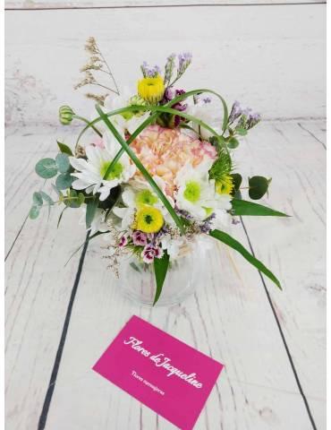 Ramillete Floral con Base...