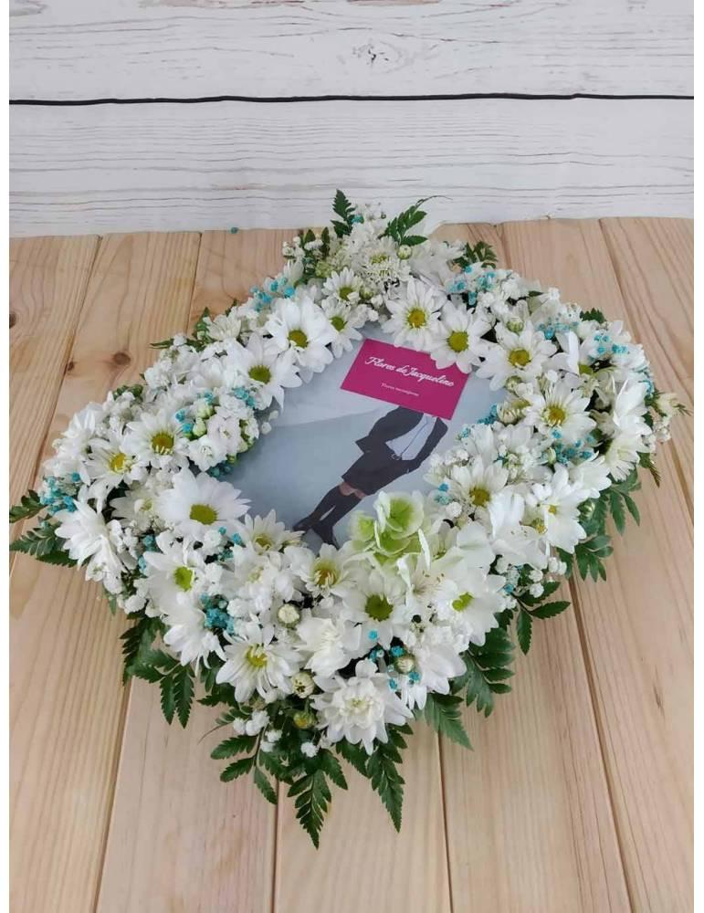 Marco Fotos Con Flores Frescas