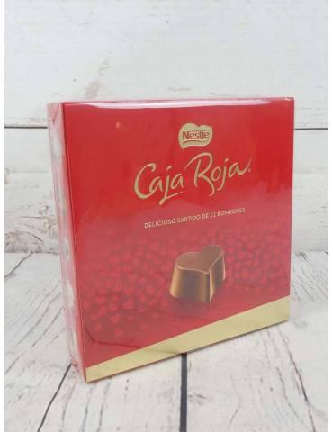 caja roja chocolates