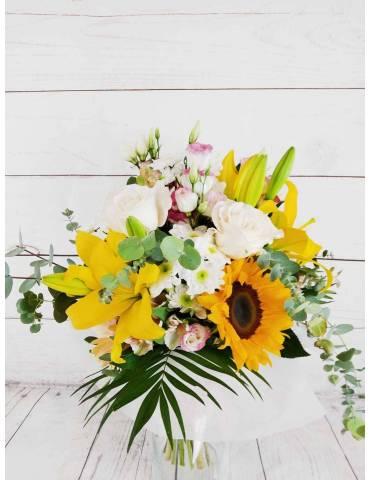 Ramo de Flores Jaune