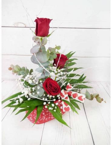 Arreglo Floral Amor Intenso
