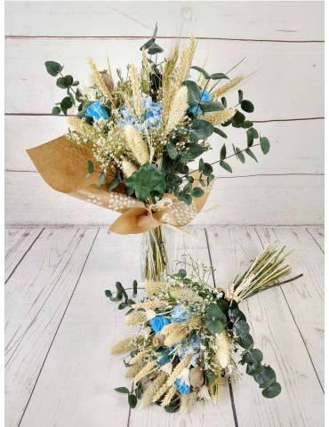 Ramo flores preservadas...