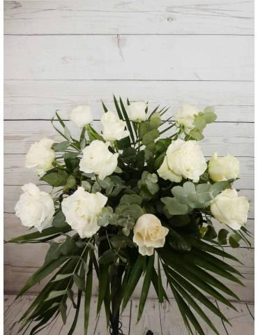 Ramo Docena Rosas Blancas (...