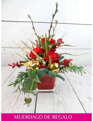 decoracion navideña para mesa