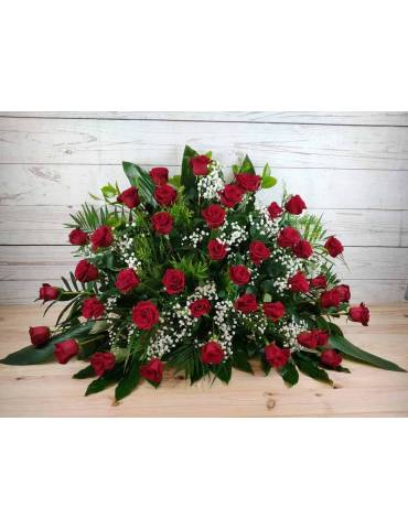 40 rosas rojas centro funerario valencia