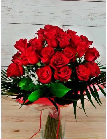 Ramo Rosas Rojas Amor (40)