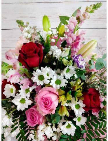 Ramo de Flores - Pinky