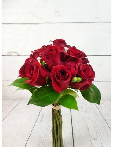 Bouquet 15 Rosas Rojas