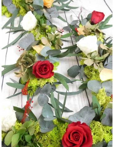 Marco Foto Flores Preservadas