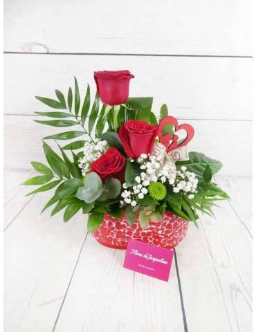 enviar rosas rojas para san valentin