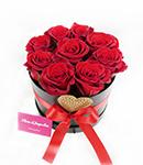 Cajas con Rosas a Domicilio | Flores de Jacqueline